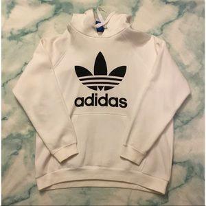 Adidas Logo Pullover Hoodie